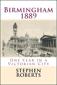 cover of Birmingham 1889 by Stephen Roberts