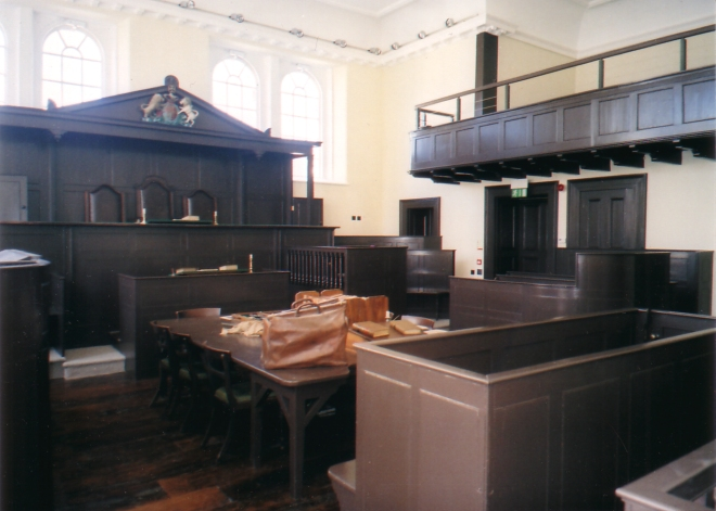 Monmouth courtroom