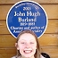 Ciara Lomax discovers the blue plaque for John Hugh Burland